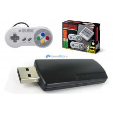 USB флешка с играми для SNES / NES Mini + 800 игр PS1 и др.