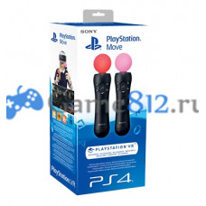 Playstation Move для PS4 и PS3 Twin Pack