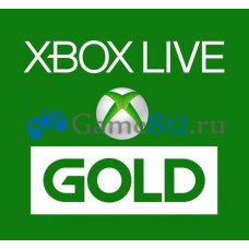 Карты оплаты золотого статуса Xbox Live (для Xbox 360 и Xbox One)