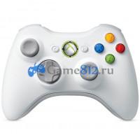 Беспроводной джойстик геймпад Wireless Controller для Windows ПК и XBOX 360, Белый