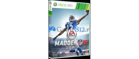 Вышла игра Madden NFL 16