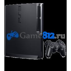 Sony Playstation 3 Slim 500 гб. + 60 отборных игр прошитые