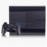 Sony Playstation 3 Super Slim + 47 игр  Лицензия PS3