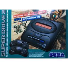 Sega Mega Drive 2 + 110 игр