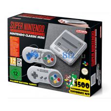 Nintendo Classic Mini SNES + 1500 игр PS1 / PSP / SNES / Dendy / Atari / M.A.M.E. / Capcom и др.