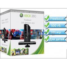 Xbox 360 500 гб. Детский сборник 100 игр. Новые