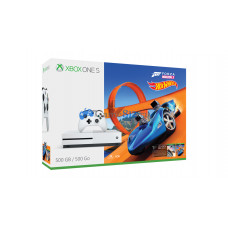 Xbox One S 500 Гб + Forza Horizon 3 + DLC Hot Weels